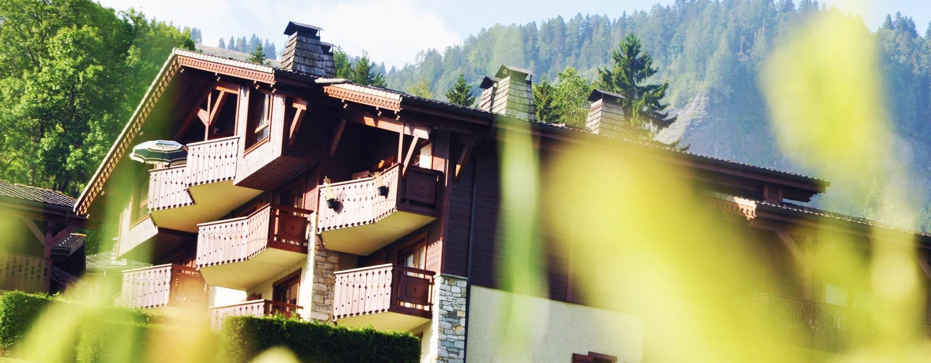 La résidence en été