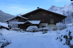 chalet face hiver 2017